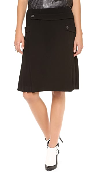 Joseph Harrington Pleated Skirt