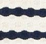 Ecru/Navy