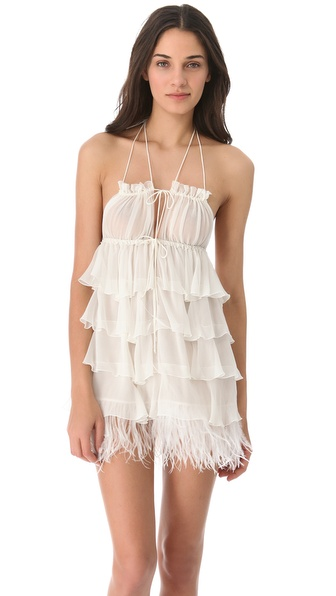 Jenny Packham Feather Chemise