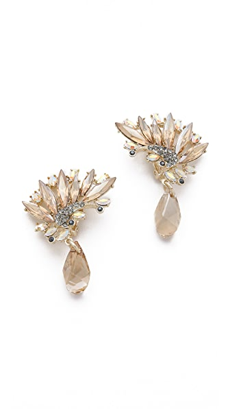 Jenny Packham Icarus Clip On Earrings II