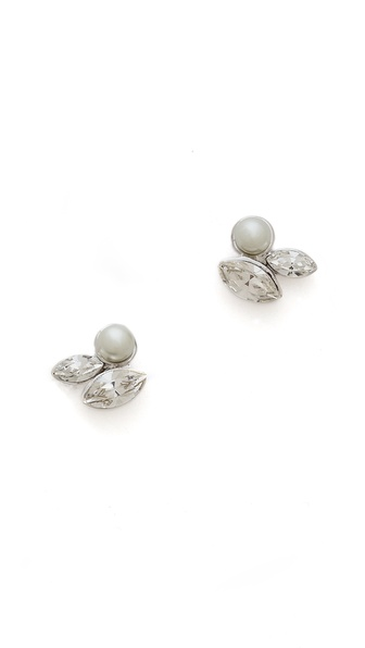 Jenny Packham Imitation Pearl I Earrings