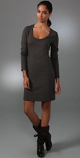 James Perse Long Sleeve Dress