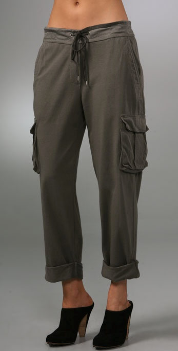 James Perse Knit Cargo Pants