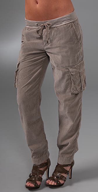James Perse Corduroy Cargo Pants