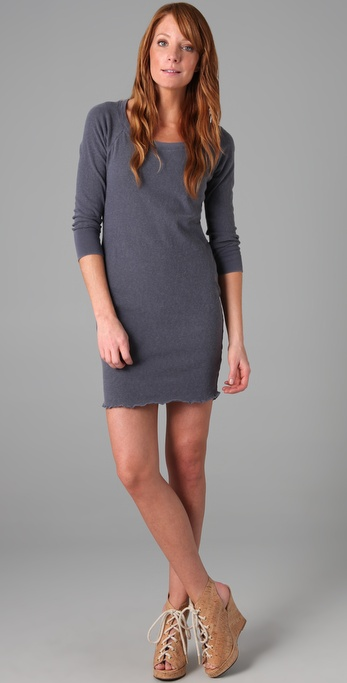James Perse Surplus Sweatshirt Dress