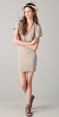 James Perse Relaxed Fit T-Shirt Dress