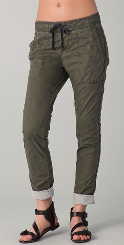 James Perse Contrast Surplus Pants