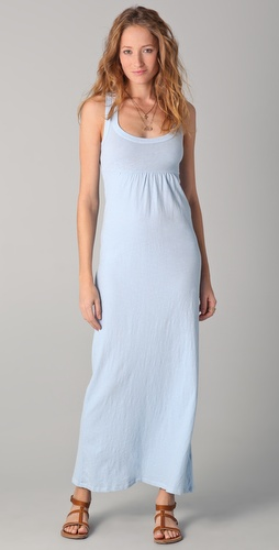 James Perse Racer Back Maxi Dress