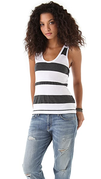 James Perse Stripe Tank