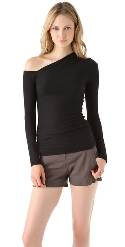 James Perse Bare Shoulder Top