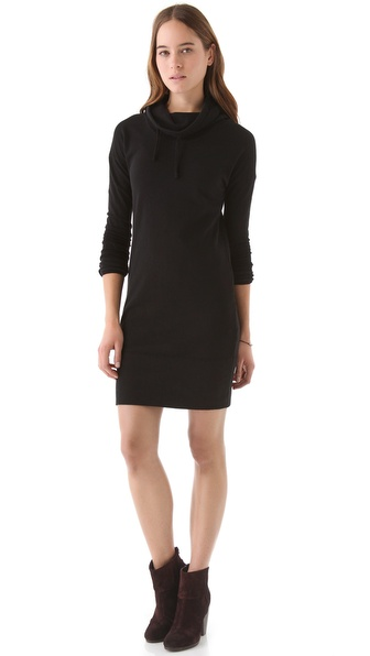James Perse Funnel Sweatshirt Dress