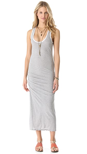 James Perse Striped Tank Dress