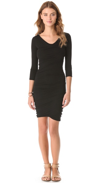 James Perse Soft Multi Layer Dress