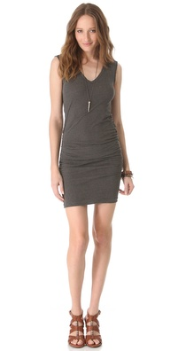 James Perse Double V Dress
