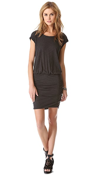 James Perse High Twist Shell Dress