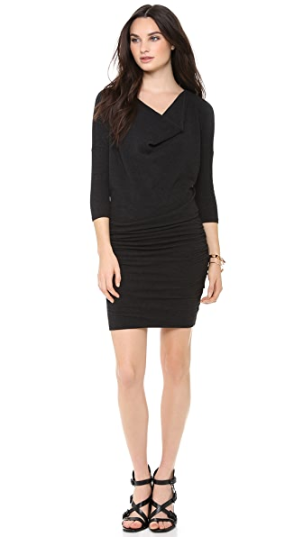 James Perse Dolman Cowl Dress