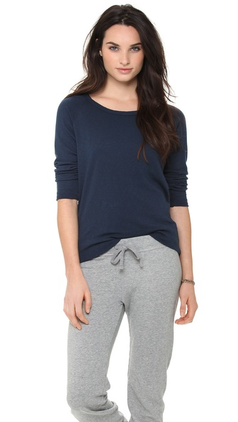 James Perse Vintage French Terry Pullover