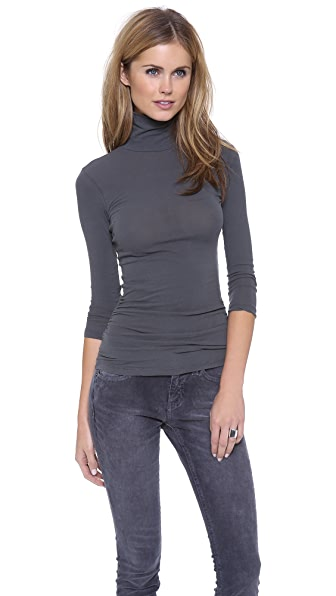 James Perse Skinny Turtleneck
