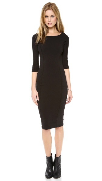 James Perse Side Pannel Skinny Dress