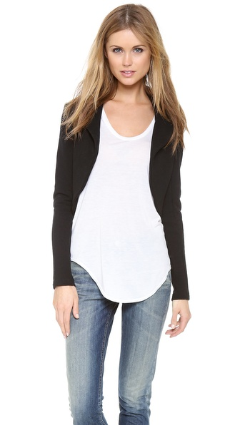 James Perse Open Circular Cardigan