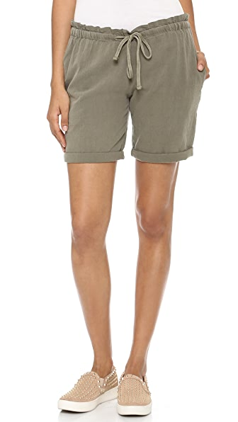 James Perse Paper Bag Gauze Shorts