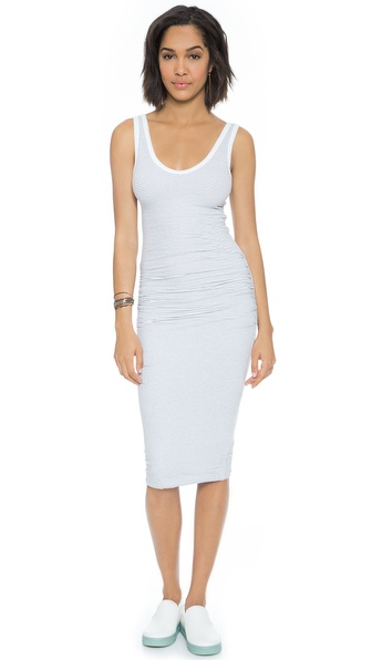 James Perse Skinny Stripe Tank Dress