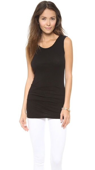 James Perse Tucked Ballet Top