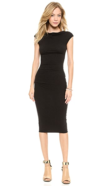 James Perse Sleeveless Tucked Dress