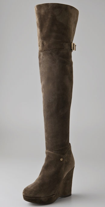Juicy Couture Peyton Above the Knee Suede Boots