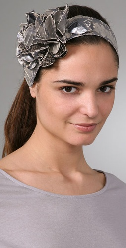 Juicy Couture Flower Headband