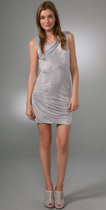 Juicy Couture Abstract Sleeveless Dress