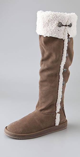 Juicy Couture Mint Suede Boots