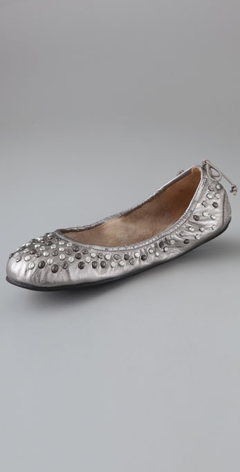 Juicy Couture Racine Stud Ballet Flats