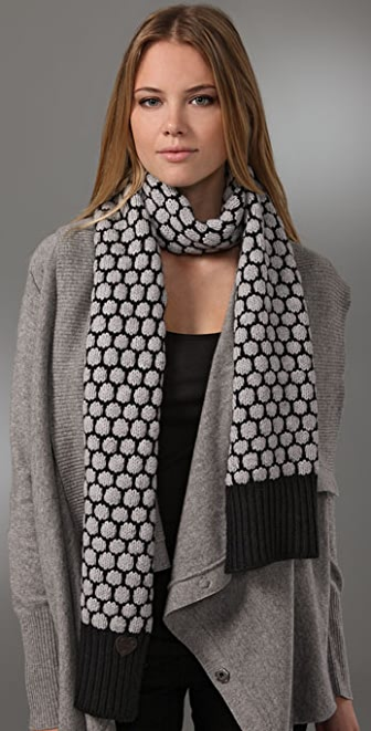 Juicy Couture Coin Stitch Scarf