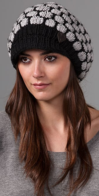 Juicy Couture Coin Stitch Newsboy Cap