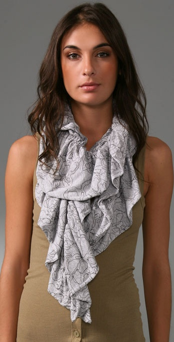 Juicy Couture Contour Rose Scarf