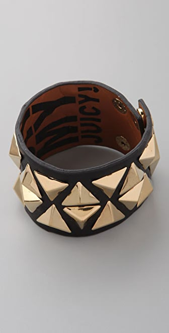 Juicy Couture Midnight Swag Pyramid Cuff