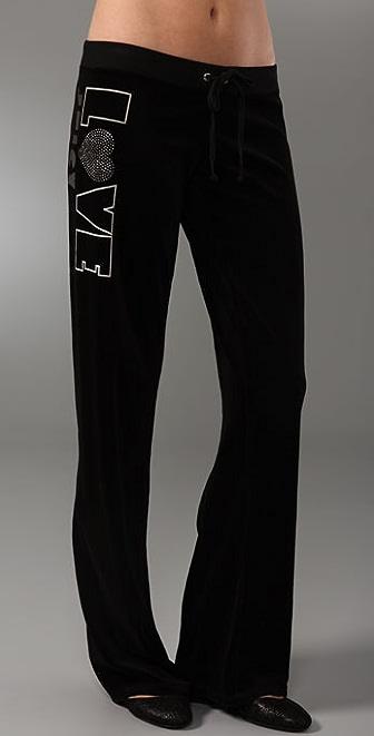 Juicy Couture Original Leg Velour Pants