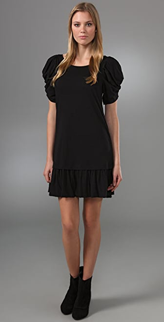 Juicy Couture Puff Sleeve Mini Dress