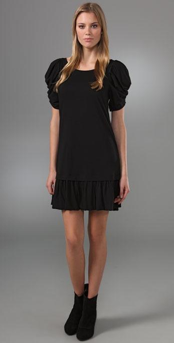 Juicy Couture Puff Sleeve Mini Dress