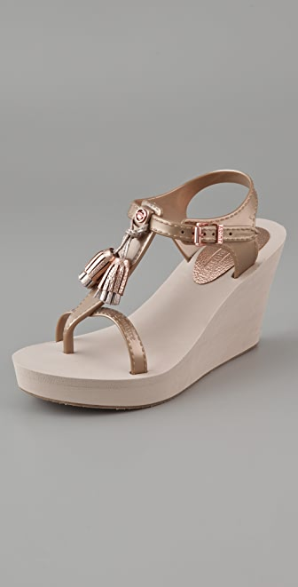 Juicy Couture Lily Wedge Sandals