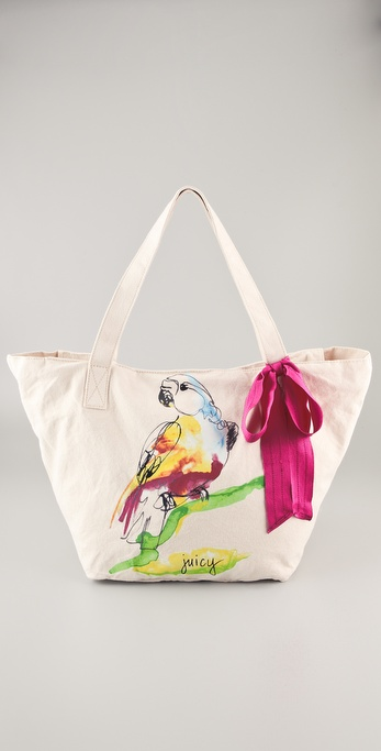 Juicy Couture Gen Y Parrot Tote