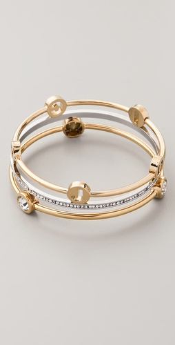 Juicy Couture Set of 3 Stackable Bangles