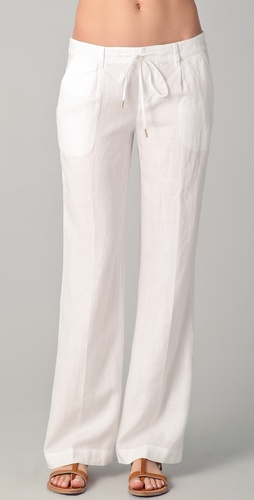 Juicy Couture Classic Linen Pants