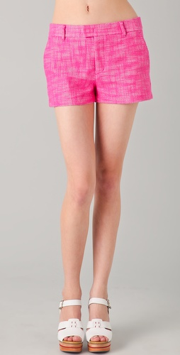 Juicy Couture Textured Cotton Shorts