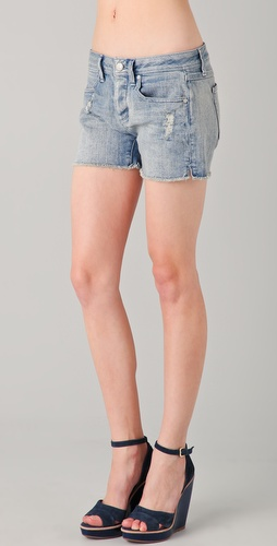 Juicy Couture High Rise Vintage Denim Shorts