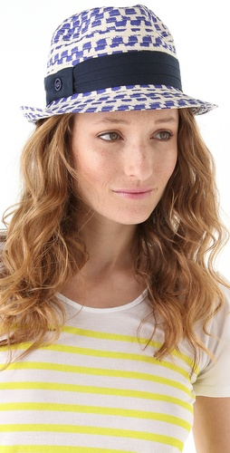 Juicy Couture Poplin Fedora