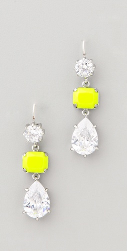 Juicy Couture Triple Drop Earrings