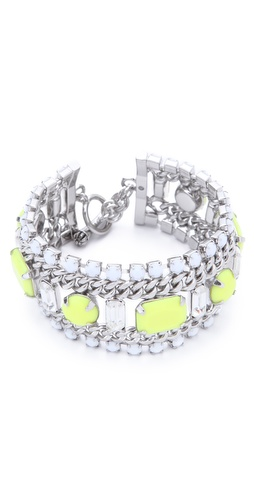 Juicy Couture Multi Layer Gem Bracelet