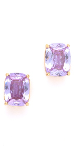 Juicy Couture Emerald Cut Stud Earrings